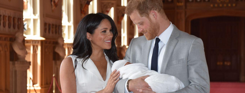 Le bébé du Prince Harry et Méghan.