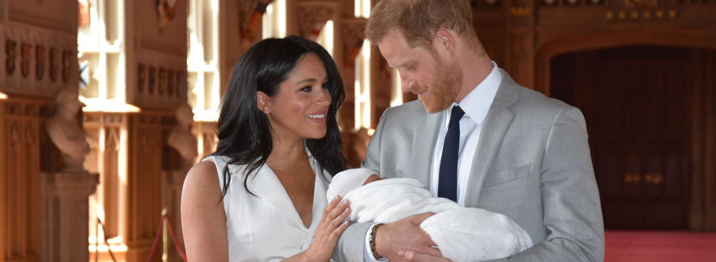 Le bébé du prince Harry et de Méghan .
