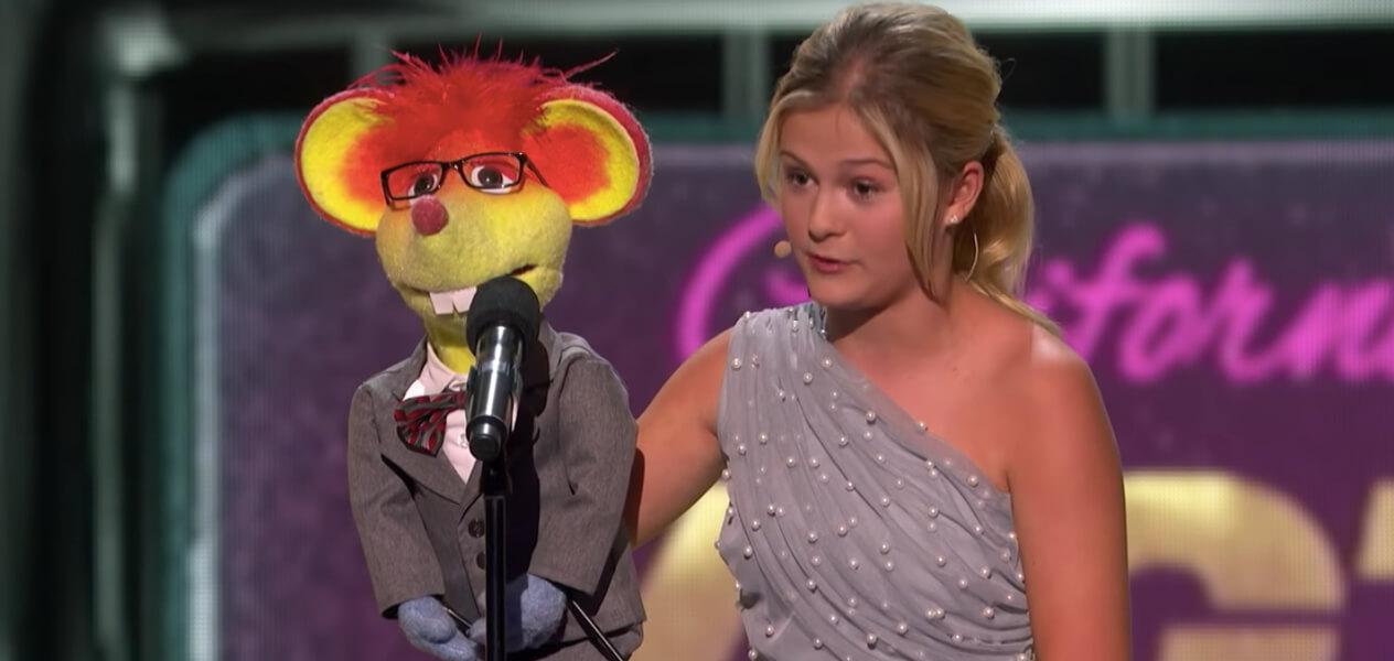 Darci Lynne, une incroyable ventriloque.