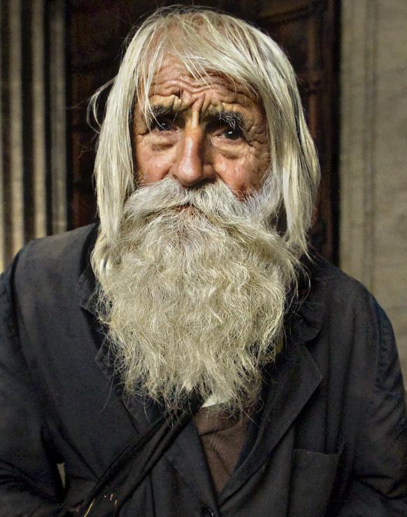Dobri Dobrev, le mendiant au grand coeur.