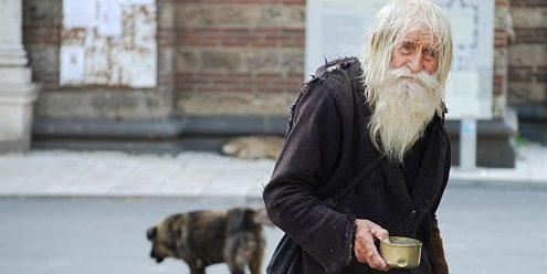 Dobri Dobrev, le mendiant de Sofia.