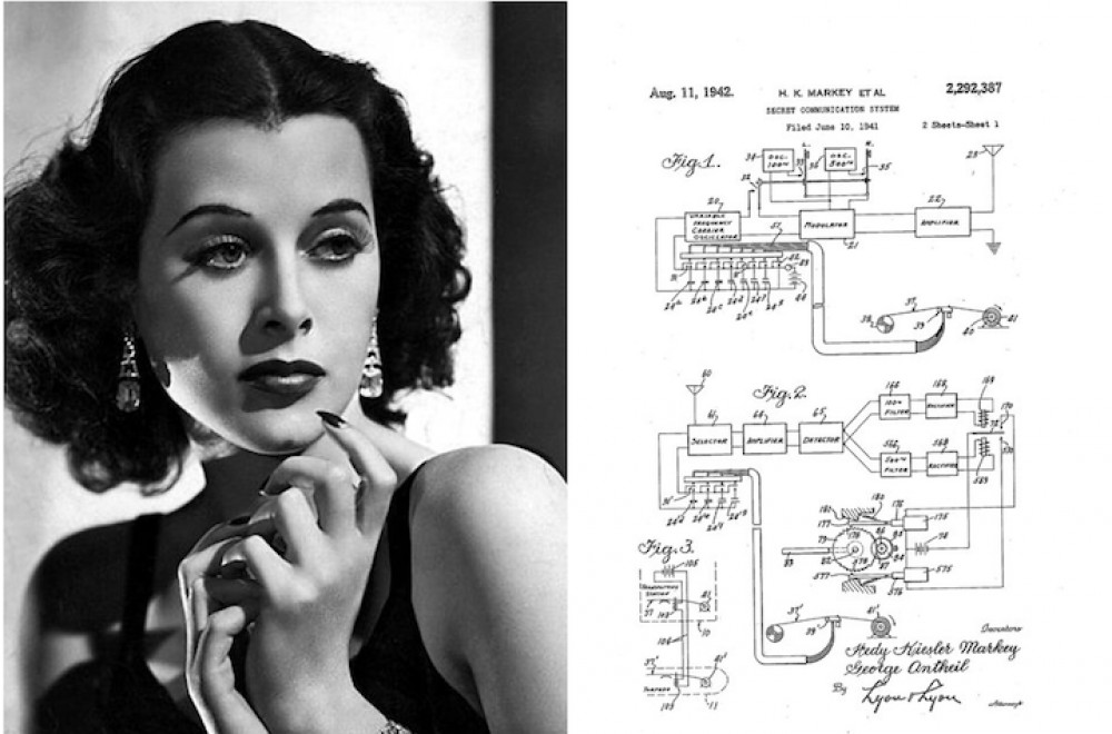 Hedy Lmarr actrice et scientifique.