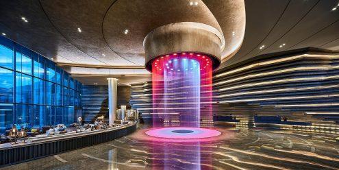 L'intercontinental Shanghai un hôtel en Chine.