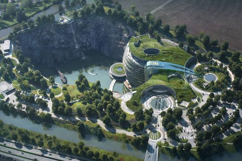 l'Intercontinental Shanghai Wonderland en Chine.