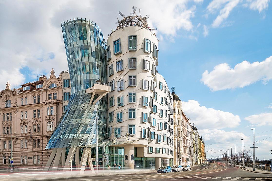 La maison dansante de Prague.