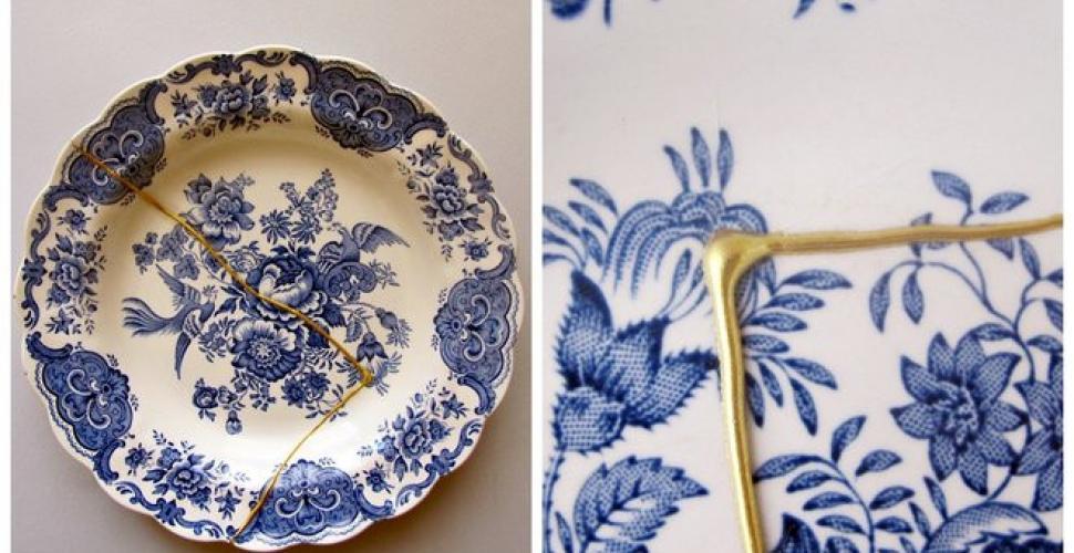 Le Kintsugi, un art pour réparer la porcelaine cassée.