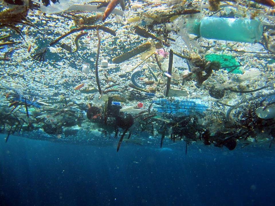 1800 milliards de déchets plastique en mer