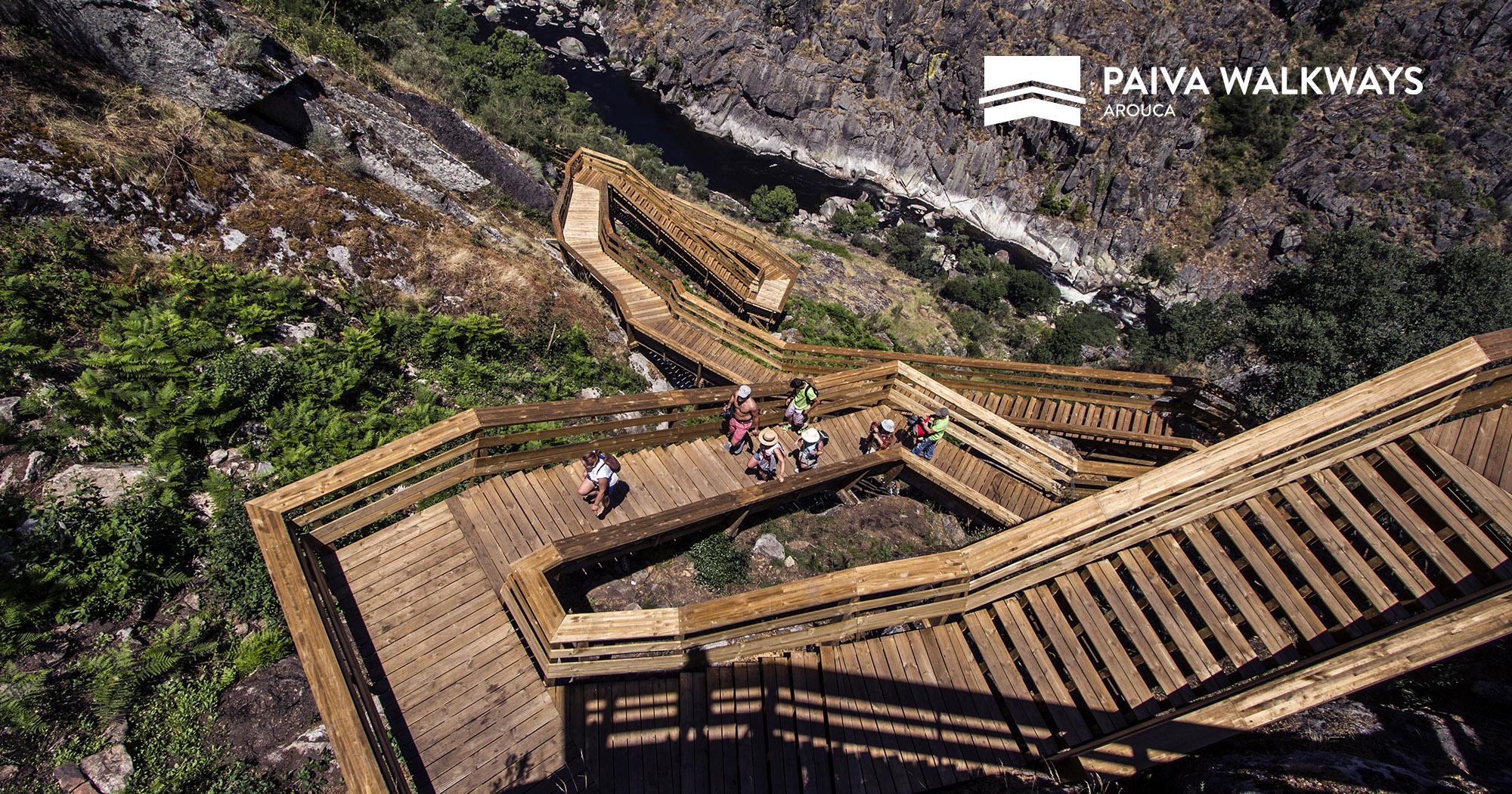 Les Passadiços du Paiva, un parcours au Portugal.