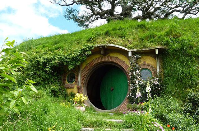La maison Hobbit, une architecture imaginaire !