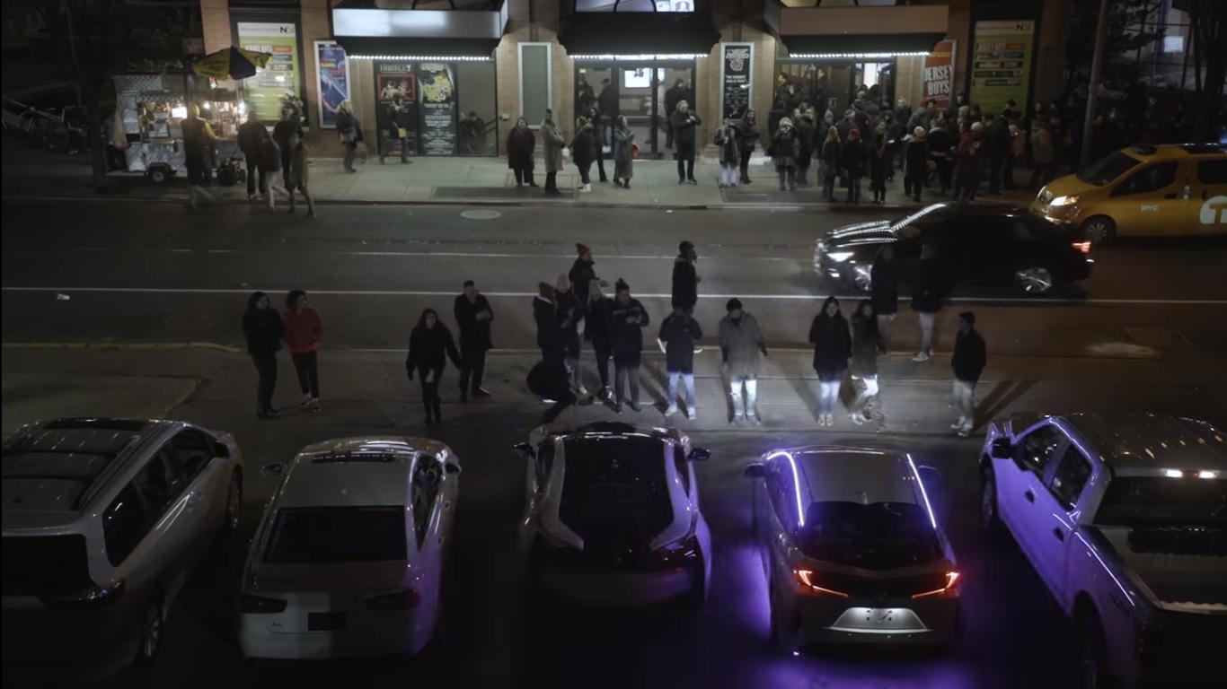 Un remix de Despacito joué par des klaxons de voitures.