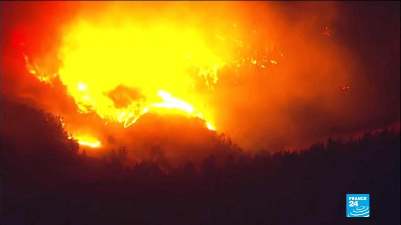 La Californie une nouvelle fois ravagée par les feux.