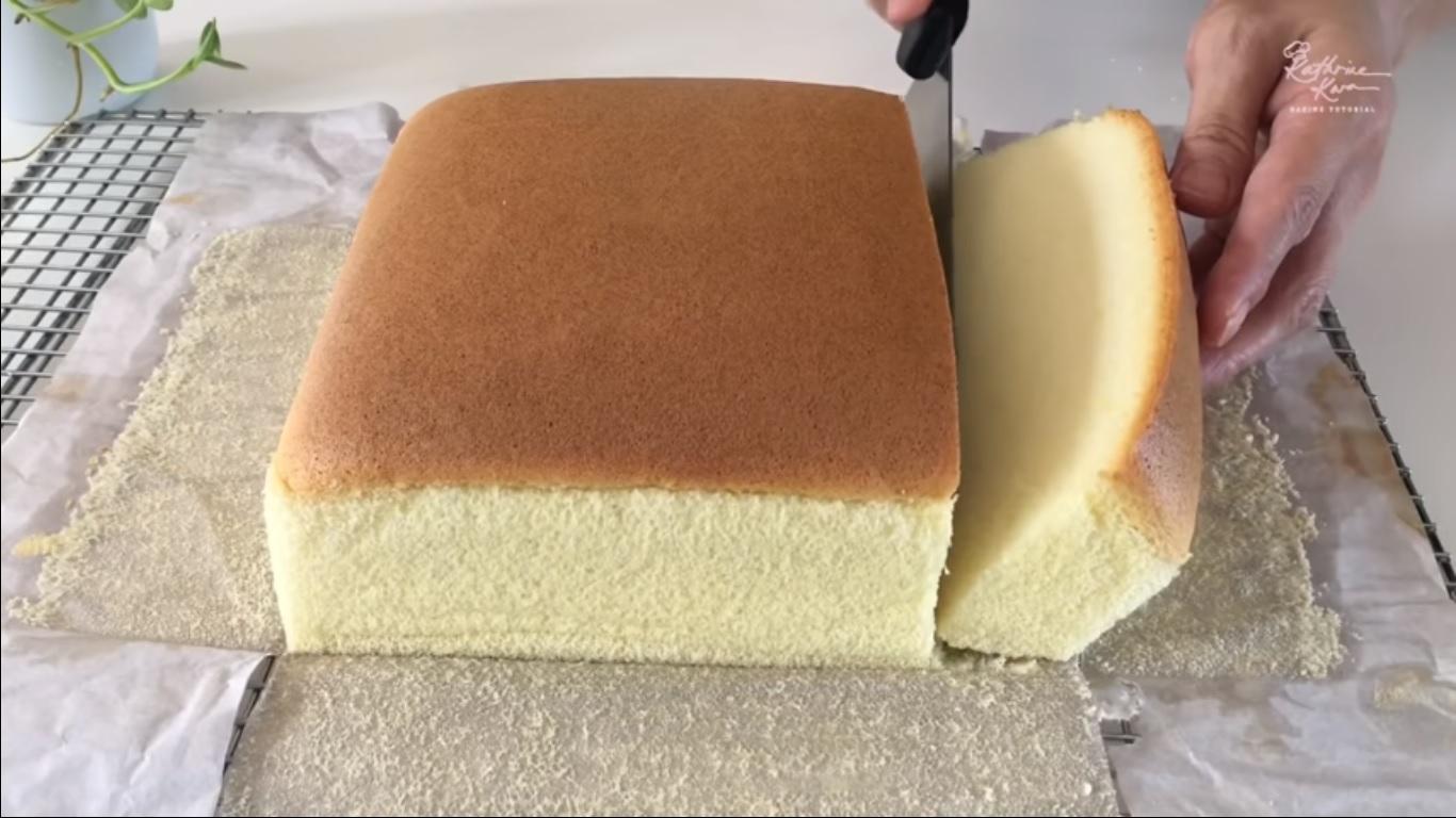 Un Cake Japonais moelleux à tomber.