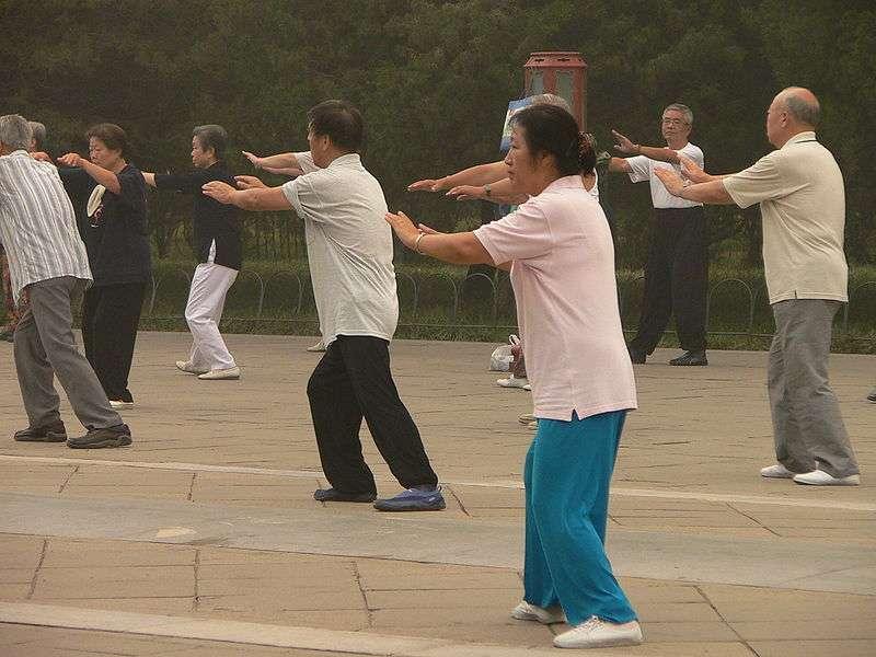 Le TaiChi, un art pour méditer et faire du sport.