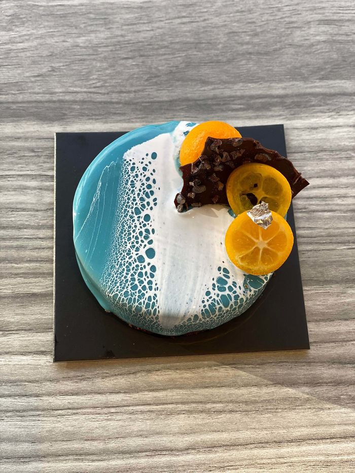 Des gâteaux très déroutants en forme d'îles de rêve