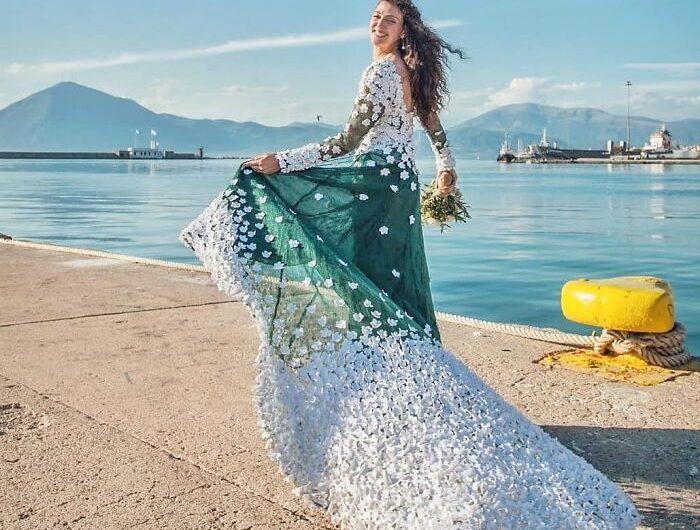 Une robe de mariée DIY réalisée par les mariées elles-mêmes!
