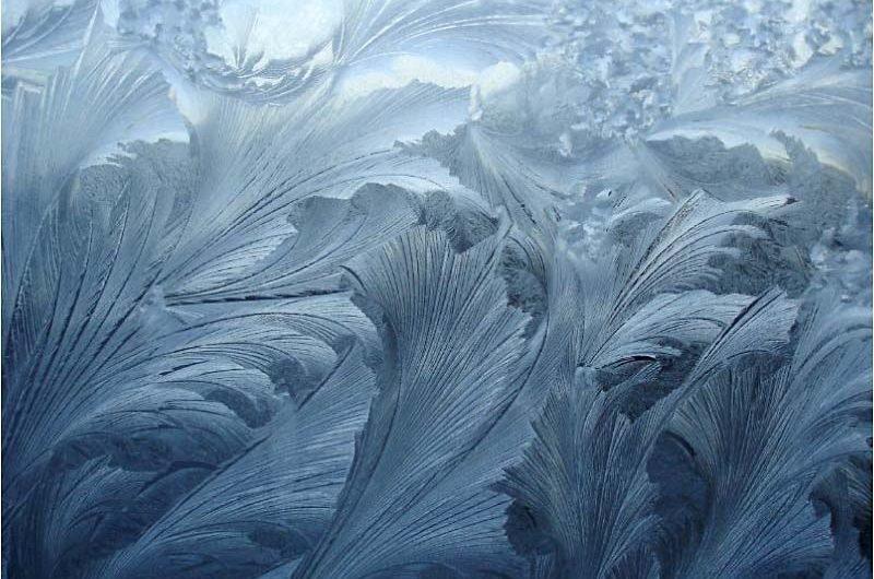 Le givre, le verglas et la gelée blanche, en Chine