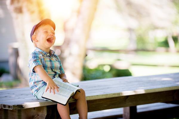 Un bonheur fou, celui des enfants!